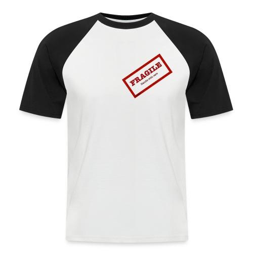 fragil png - Camiseta béisbol manga corta hombre