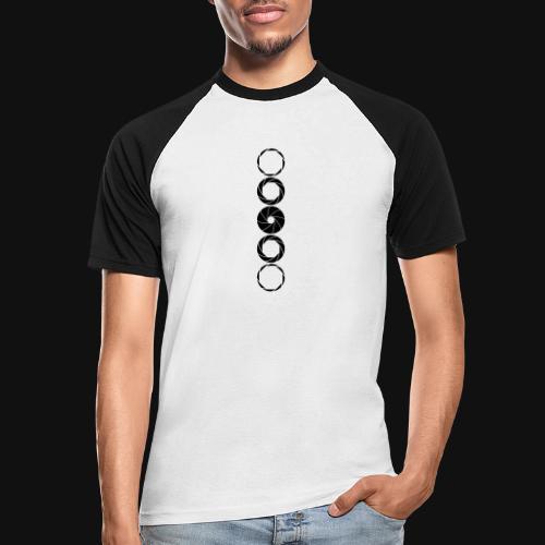 Aperture Range - Männer Baseball-T-Shirt