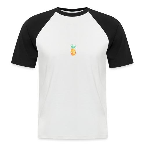 pinety logo print - Kortærmet herre-baseballshirt