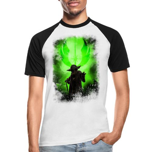 yoda - T-shirt baseball manches courtes Homme