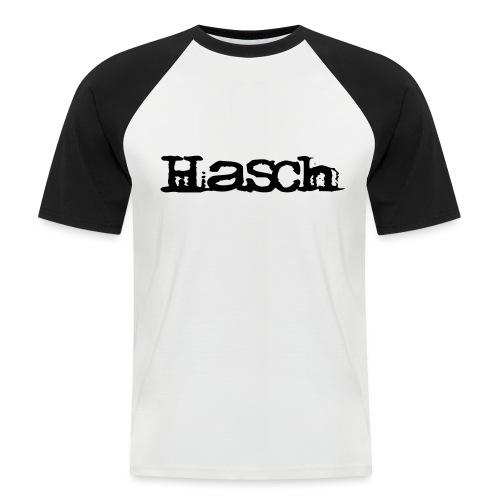 Hasch LOGO - Kortärmad basebolltröja herr