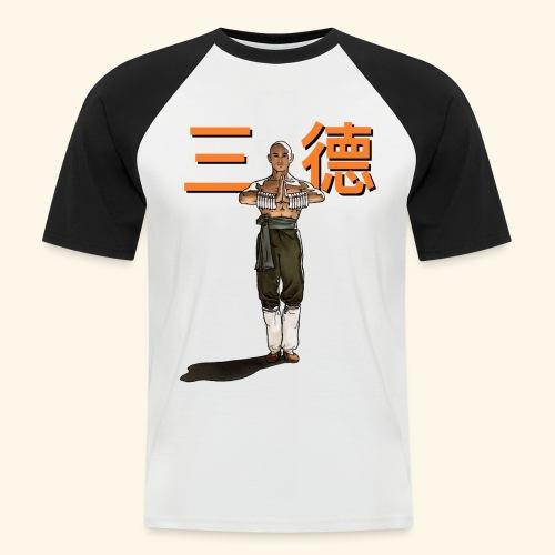 Gordon Liu - San Te - Monk (officiel) 9 prikker - Kortærmet herre-baseballshirt