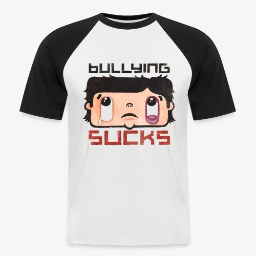 Bullying sucks - Miesten lyhythihainen baseballpaita