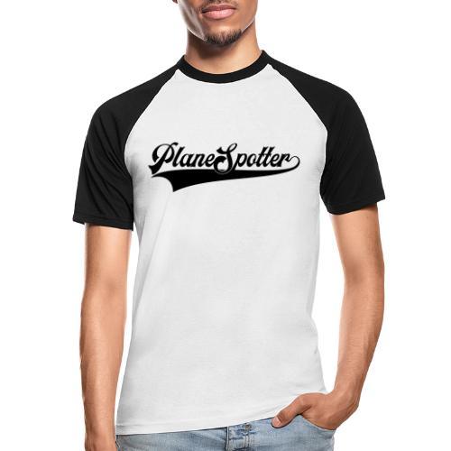 PlaneSpotter Retro - Koszulka bejsbolowa męska