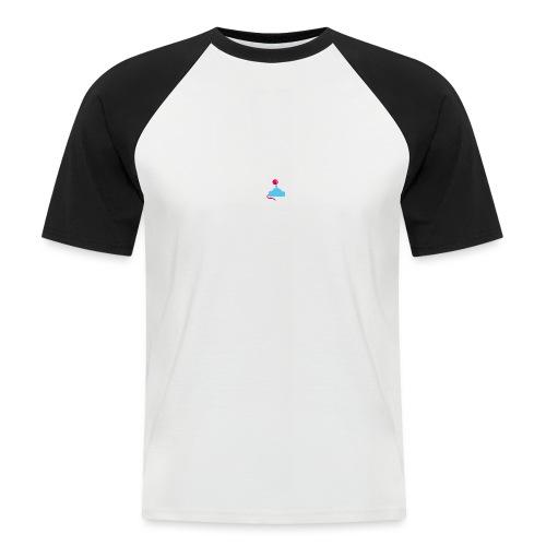 GameoverLogotekst - Mannen baseballshirt korte mouw