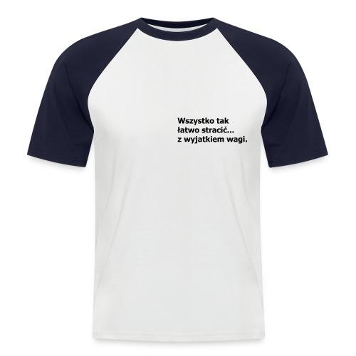 Fit - Koszulka bejsbolowa męska