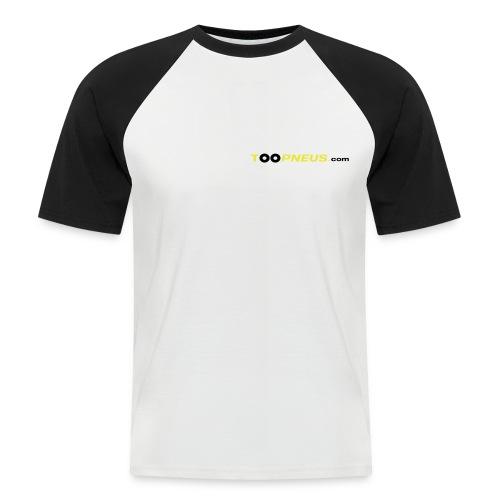 toopneus vectoriel 2010 - T-shirt baseball manches courtes Homme