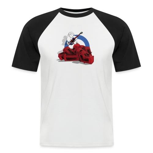 Jack Mout - T-shirt baseball manches courtes Homme