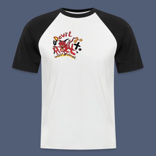 Devil go to hell - Männer Baseball-T-Shirt