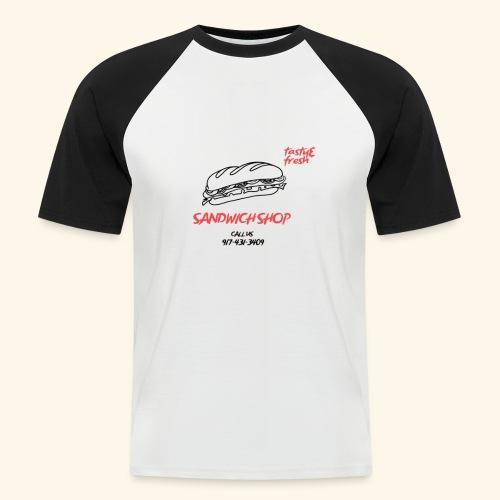 SANDWICH Zum Anziehen - Männer Baseball-T-Shirt