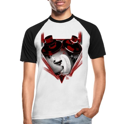 grafiti - Camiseta béisbol manga corta hombre