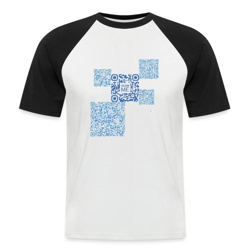 qrcode - T-shirt baseball manches courtes Homme
