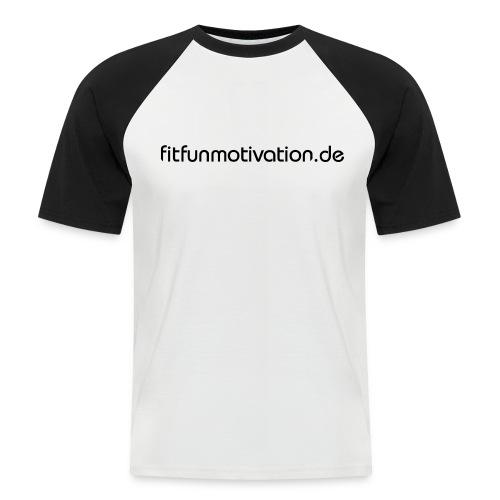 ffm schriftzug - Männer Baseball-T-Shirt