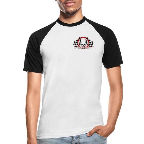 Angry Division - Männer Baseball-T-Shirt