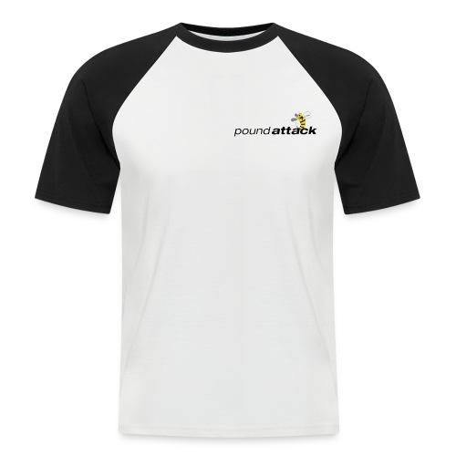 logo poundattack freigestellt mit wespe groß png - Männer Baseball-T-Shirt