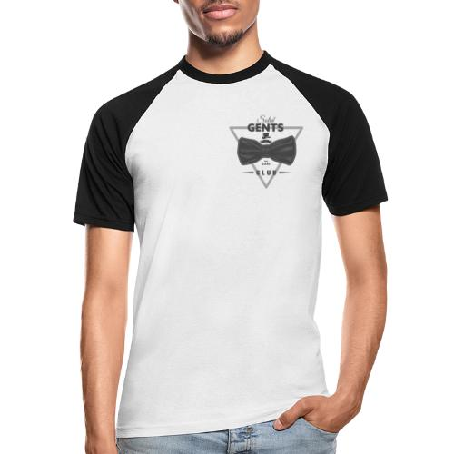 Solid Gents Club - Männer Baseball-T-Shirt