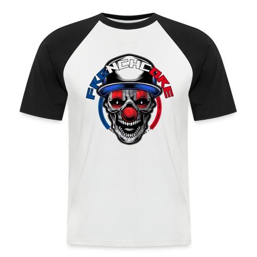 Frenchcore Clown - Männer Baseball-T-Shirt