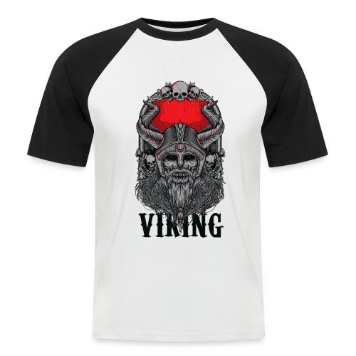 Viking Design 02 - Miesten lyhythihainen baseballpaita