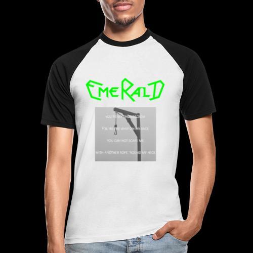 Emerald - Männer Baseball-T-Shirt