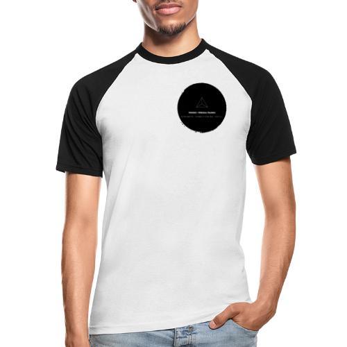 Triforce blend (black) - Männer Baseball-T-Shirt