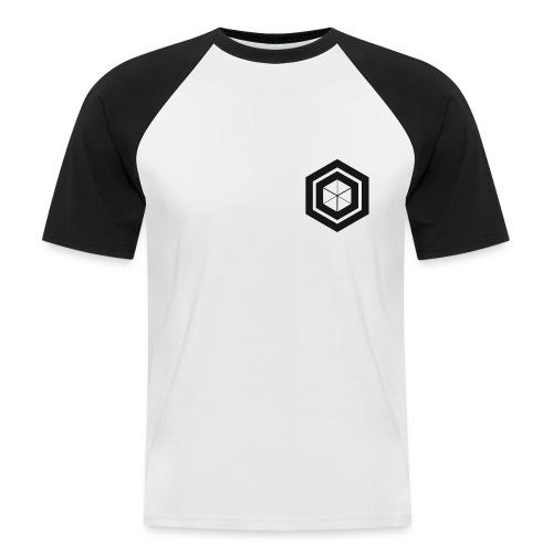 logo design 2 Noir png - T-shirt baseball manches courtes Homme