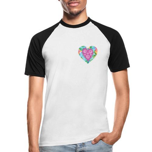Heart Bubbles make you float - Men's Baseball T-Shirt