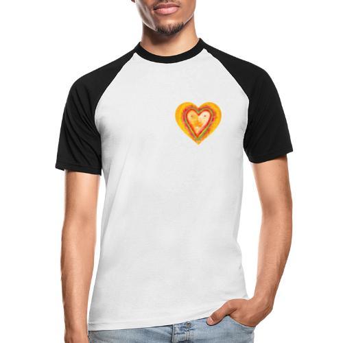 Heartface - Men's Baseball T-Shirt
