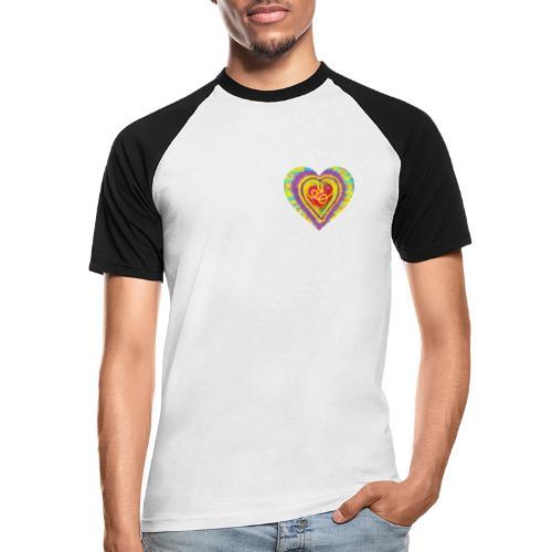 Life is a colorful circus - Men's Baseball T-Shirt