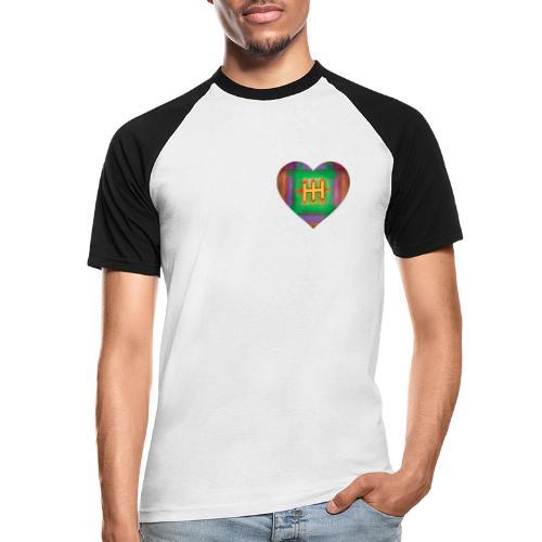 HH with a Heart - Men's Baseball T-Shirt