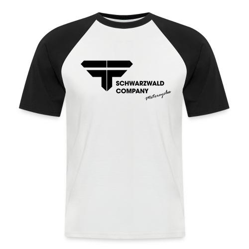 Schwarzwald Company S.C. Motorcycles - Männer Baseball-T-Shirt