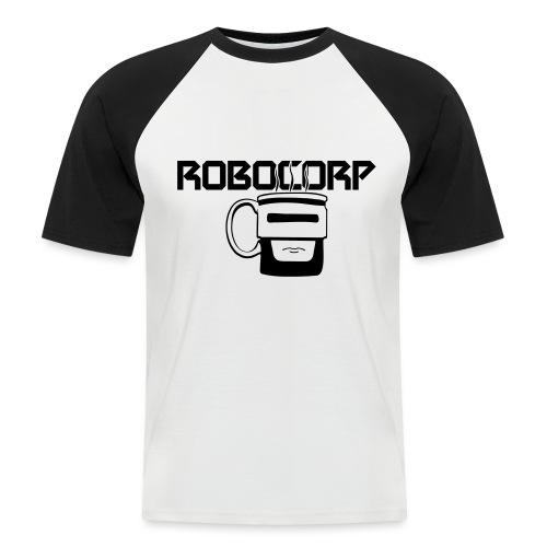 Robo corp - Koszulka bejsbolowa męska