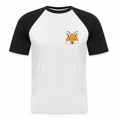 renard - T-shirt baseball manches courtes Homme