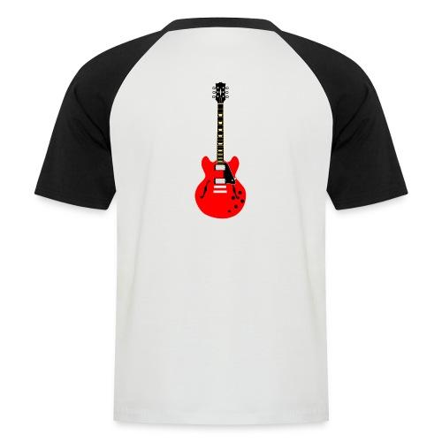 Guitare dos / Vully Blues classique poitrine - Männer Baseball-T-Shirt