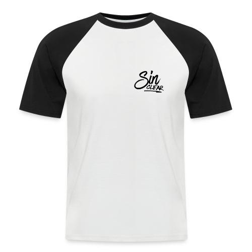 Sinclear Logo Schwarz 🏴 - Männer Baseball-T-Shirt