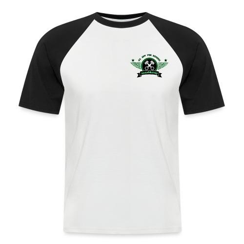 MotorbikeMap - Männer Baseball-T-Shirt