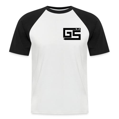 logo gaming-serv - T-shirt baseball manches courtes Homme