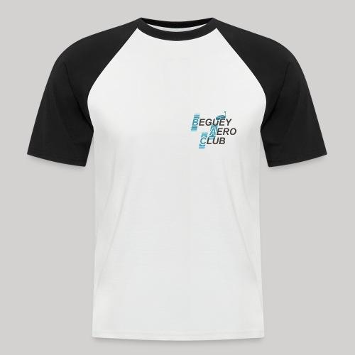 logo Le B.A.C. FPV 2018 bordure blanche - T-shirt baseball manches courtes Homme