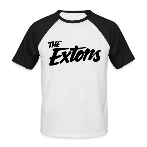 extons logo final - Men's Baseball T-Shirt