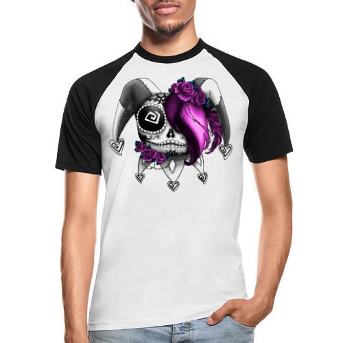 La Catrina Bajorette - Pink Lady - Männer Baseball-T-Shirt