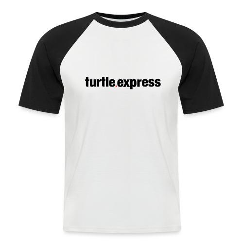 TEX Schriftzug - Männer Baseball-T-Shirt