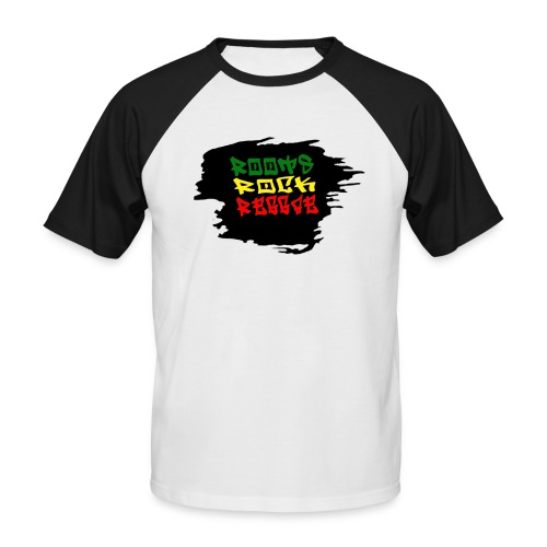 roots rock reggae - T-shirt baseball manches courtes Homme