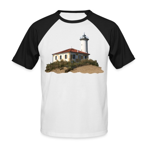 Christoph Winter - Faro di Bibione - Männer Baseball-T-Shirt