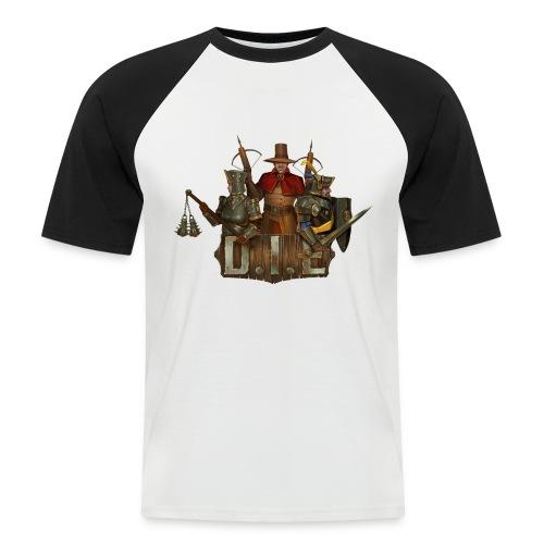 THE logo - Good Characters - Men's Baseball T-Shirt