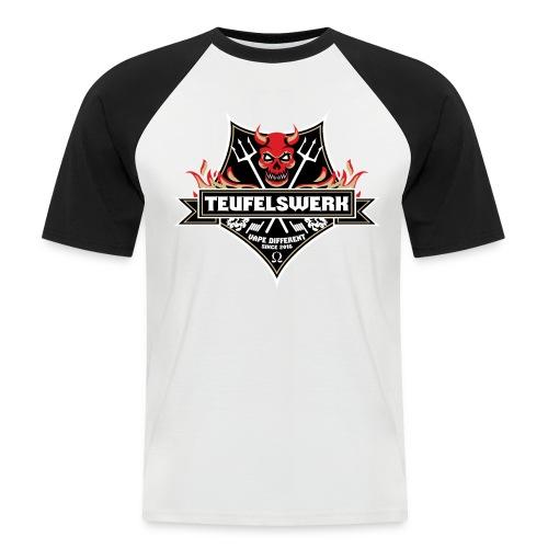 Teufelswerk Pentagramm - Männer Baseball-T-Shirt