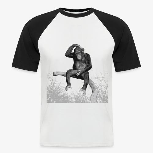 Monkey Music - Men's Baseball T-Shirt