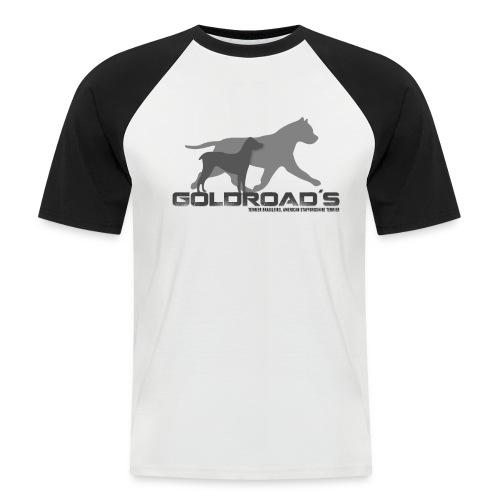 Goldroads - Kortärmad basebolltröja herr