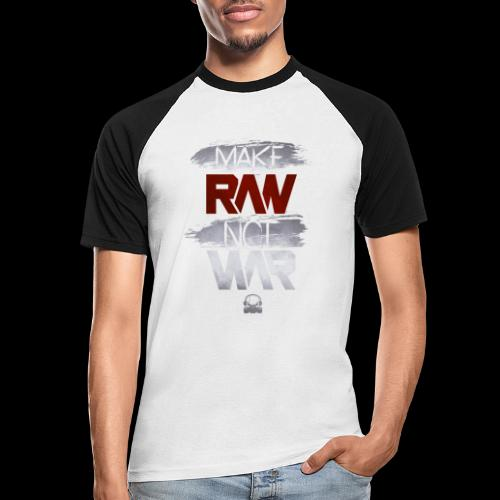 Official Rawstyle Nation - Mannen baseballshirt korte mouw