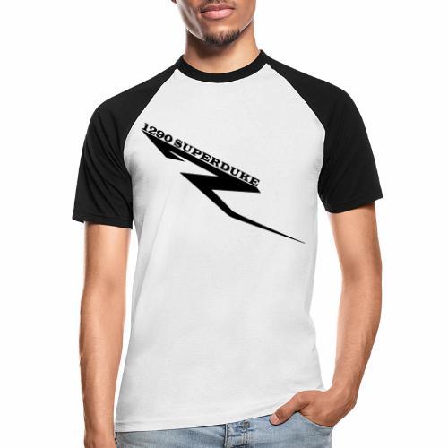 1290 Superduke R/ Dampfhammer V.1 - Männer Baseball-T-Shirt