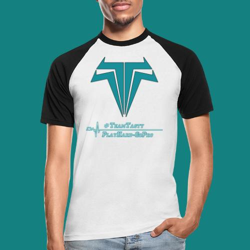 TastyTony ~ TeamTasty - Männer Baseball-T-Shirt