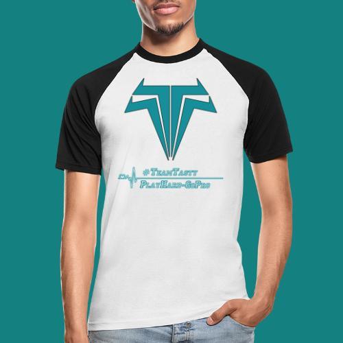 TastyTony ~ TeamTasty - Männer Baseball-T-Shirt